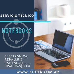 Reparación de Notebooks